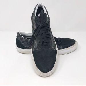 Checkered Vans   Men's Lace Up Sneaker U2-145-3